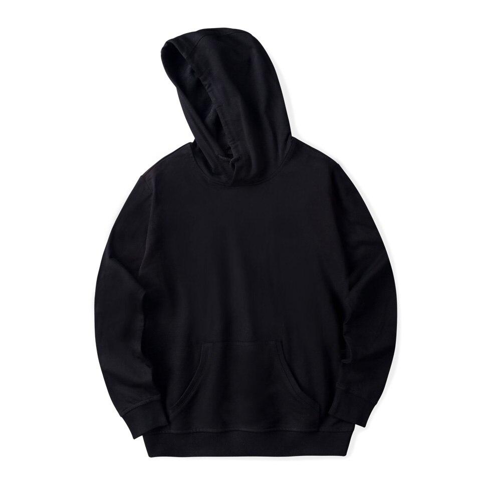 2018 Neue Solide Hoodies Männer/frauen Herbst Winter Fashion Warm Herren Kapuzenpullis Und Sweatshirt Baumwolle Hip Hop Plus Größe Kleidung 4xl