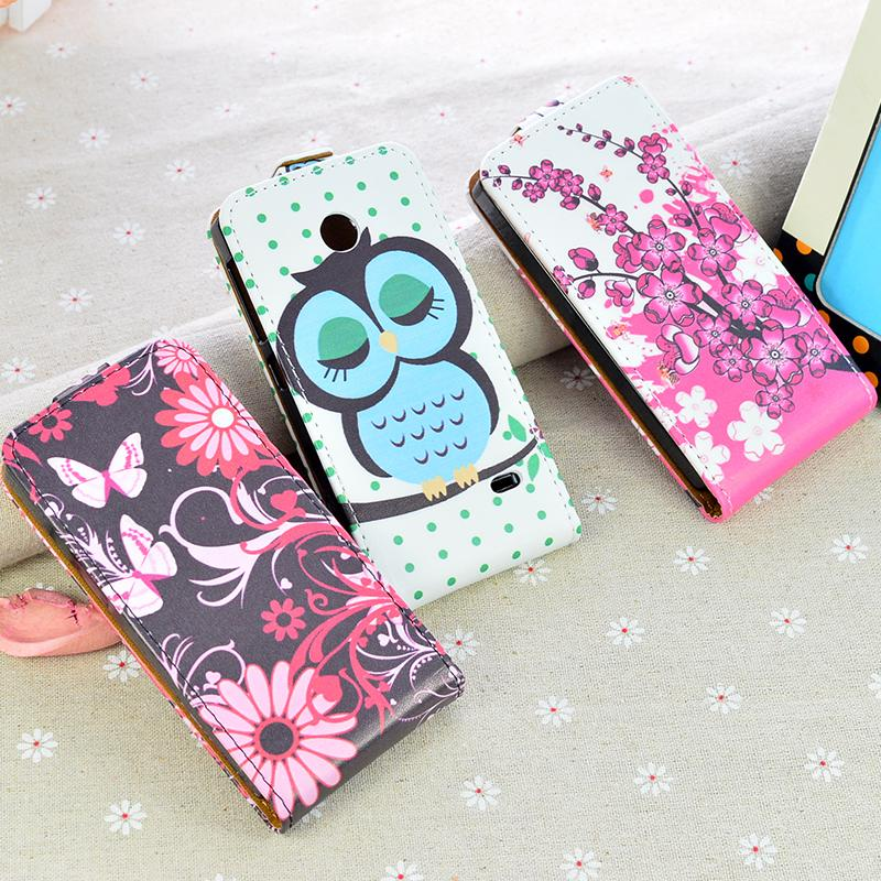 cheap for discount 36185 13a2a Cover For Nokia X Dual SIM A110 RM 980 Flip case Printing Cartoon Vertical  Magnetic Mobile Phone Bag for Nokia X (4.0inch) Cover-in Phone Pouch from  ...