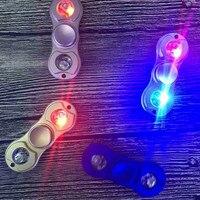 Shake Light Horse Race Lamp Fidget Hand Spinner Aluminium Alloy For Autism And ADHD Fidget Spinner