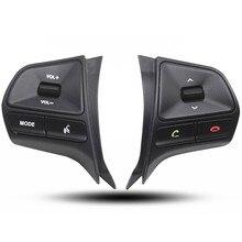 En la acción!! 2011-2012 KIA Rio/K2 Alta calidad Del Volante original de Audio, el canal y el botón de control de bluetooth Libre gratis