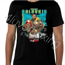 b2838f57696e93 Gennady Golovkin GGG Boxing T Shirt Apparel 4LUVofBOXING New BK Tee Triple  G(China)