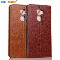 Case For Letv Pro 3 KEZiHOME Genuine Leather Flip Stand Leather Cover For Letv Pro 3
