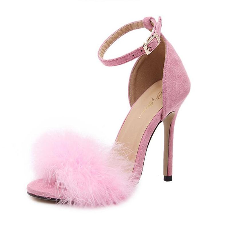 Popular Fur Sandals Buy Cheap Fur Sandals Lots From China Fur Sandals Suppliers On Aliexpress