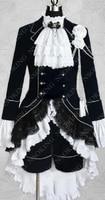 Black Butler Cosplay Full Dress Ciel Phantomhive Black Cosplay Costume