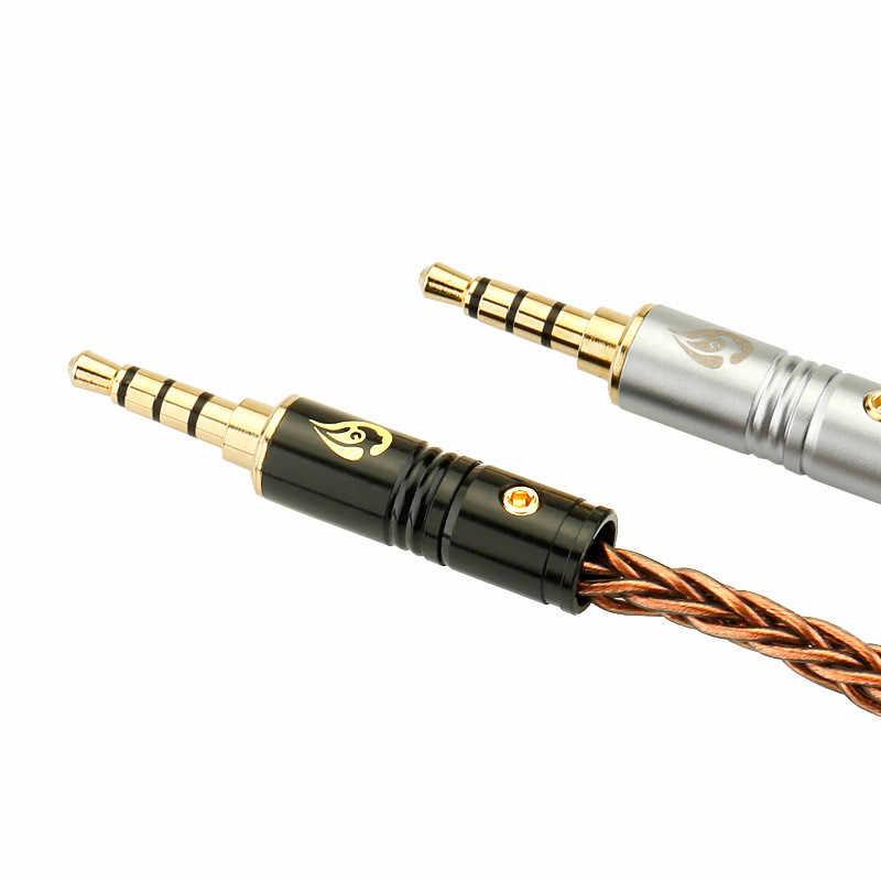 2 шт. Jack 3,5 разъем для наушников штекер четырехуровневый прямой разъем для наушников аудиокабель и видео разъем адаптера