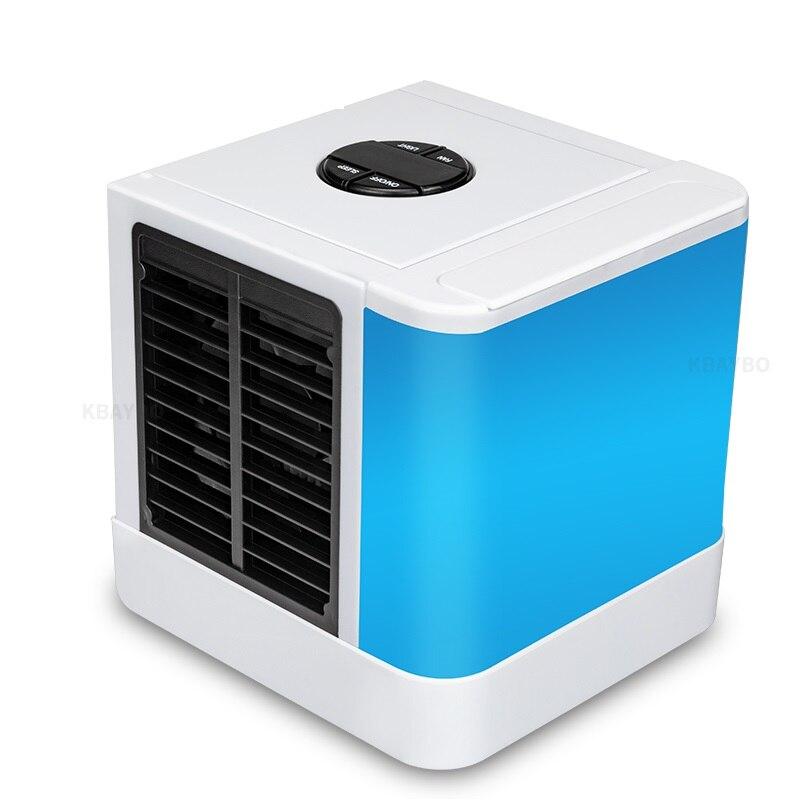 Mini Appareils de Climatisation Refroidisseur Fans Air Ventilateur De Refroidissement D'été Portable Vent Fort Pour Bureau