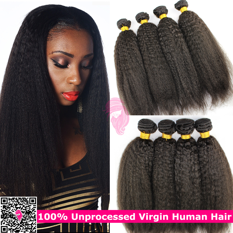 Surprising Online Get Cheap Kinky Straight Wefts Aliexpress Com Alibaba Group Short Hairstyles Gunalazisus