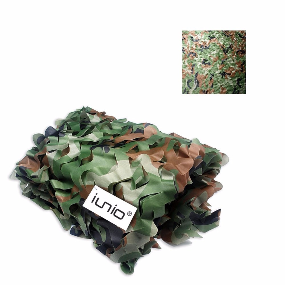 Camo Netting 7 Colors 10M X 1.5M Hunting Camping Jungle Sun Shade Cloth Tarp Tent for Car-Covers Camouflage Military Nets double fleece camo suits fabric jungle camouflage hunting clothing sets for hunter clothes