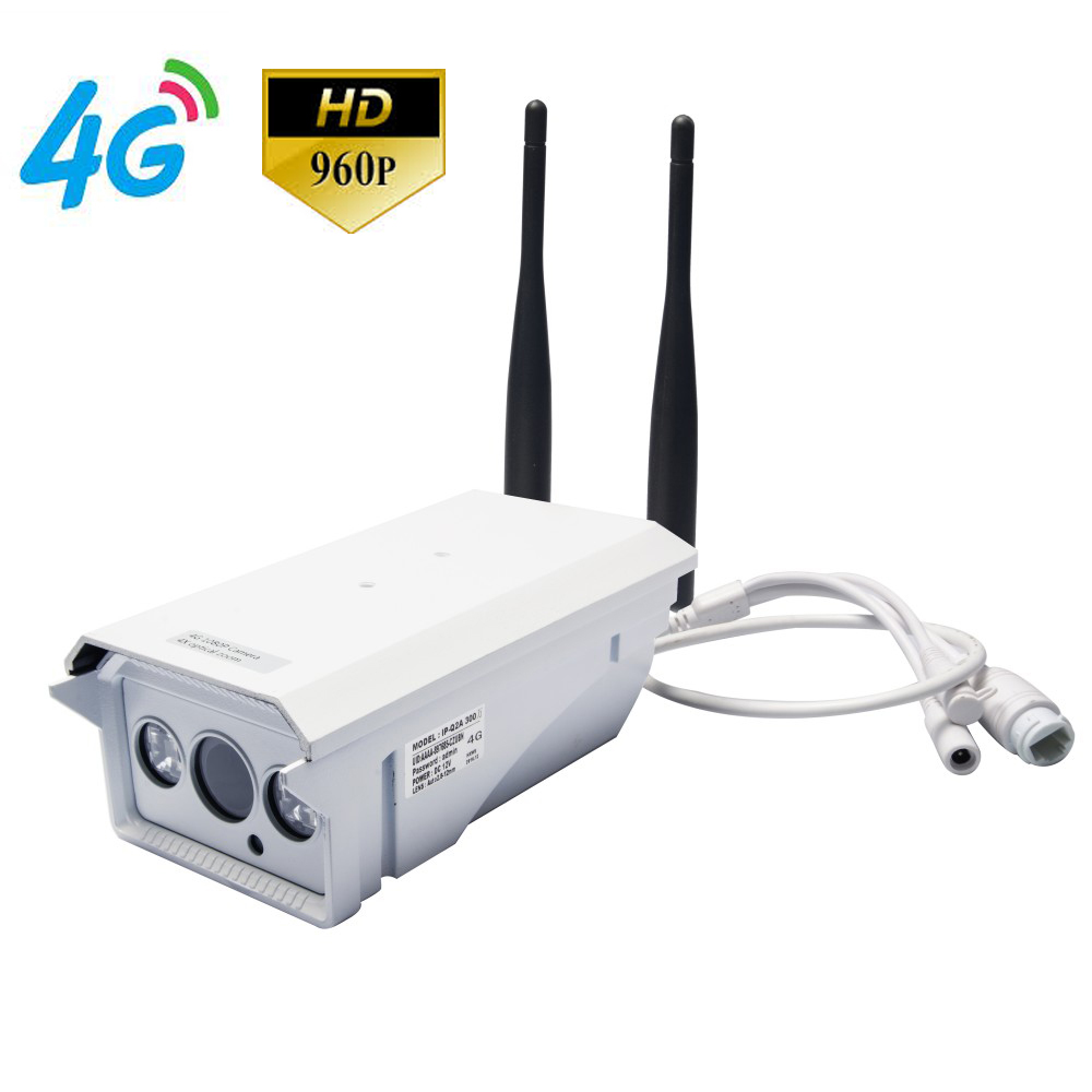4G Mobile Bullet 960P HD IP Camera with 4G FDD LTE Network Worldwide & Free APP for Remote Monitoring & Recording & Waterproof экшн камера ridian bullet hd pro 4