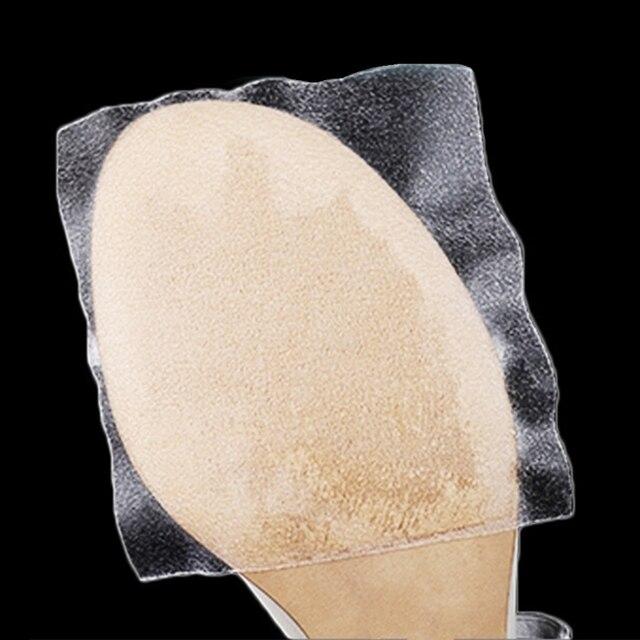 EYKOSI Duy Nhất Băng Tự Dính Chống Trượt Sticker Minh Bạch Cao Gót Giày Bảo Vệ Giày Phụ Kiện Duy Nhất Bảo Vệ Bìa