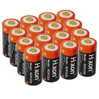 16pc 700mAh 3.7V RCR123A CR123A 16340 rechargeable battery for Arlo HD Cameras and Reolink Argus UL FCC Certified made by Hixon