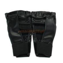 Боксерские перчатки пробивая мешок половина митенки спарринг