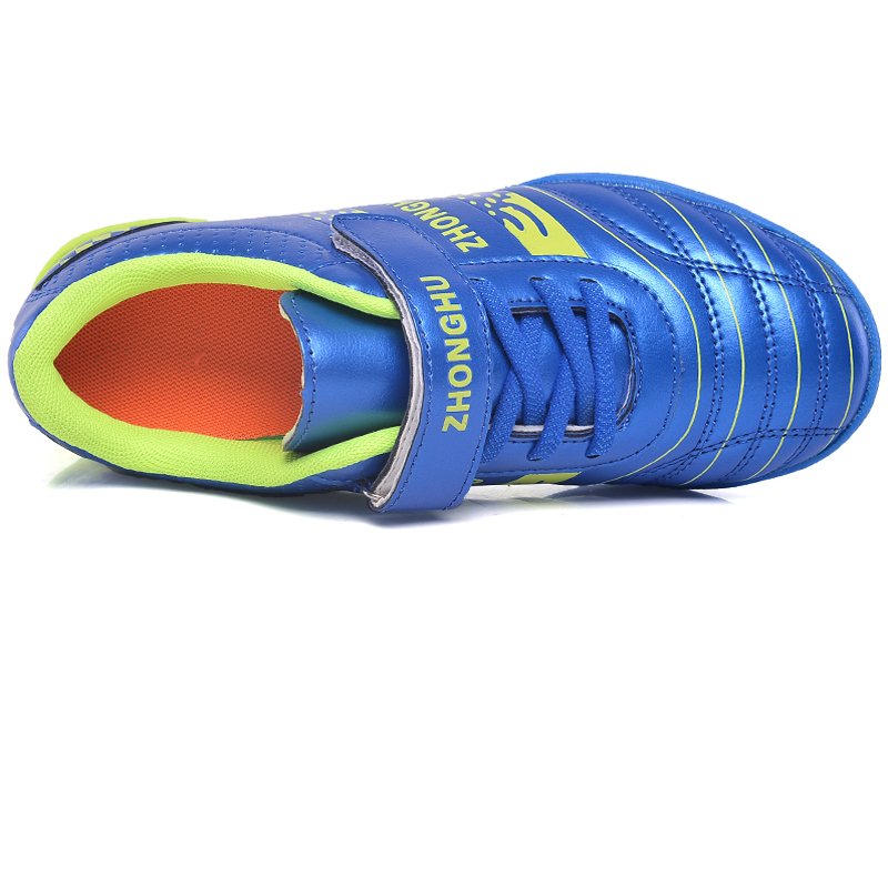 Cleats Leather Kids Sneakers Boys Soccer Shoes Unisex Girls Football Shoes Outdoor Rubber Children Trainer Shoes Sport Boys Foot in Soccer Shoes from Sports Entertainment