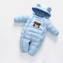 OrangeMom Newborn Baby Winter Climbing Clothes Cartoon