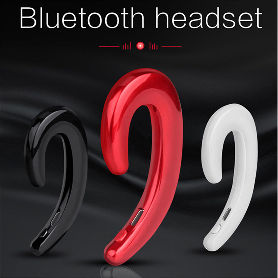 K8 Bone Conduction Bluetooth Headphone Ear Hook No Pain Wear Wireless Headset Music Earphones With Microphone For iPhone Xiaomi mini no pain wear wireless headset lossless music earphone with mic bone conduction bluetooth headphone for iphone android