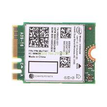 Для Intel Dual Band Bluetooth Wireless-AC 3165 BT4.0 2,4G/5G 433M NGFF NGW сетевая карта беспроводная Wifi сетевая карта C26