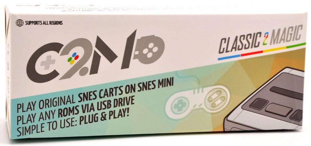 クラシック 2 マジック C2M 用互換オリジナルスーパーファミコン/ファミコンカートによる USB ドライブで動作からスーパーファミコンクラシックミニ任意の領域  グループ上の 家電製品 からの 交換部品 & アクセサリー の中 1