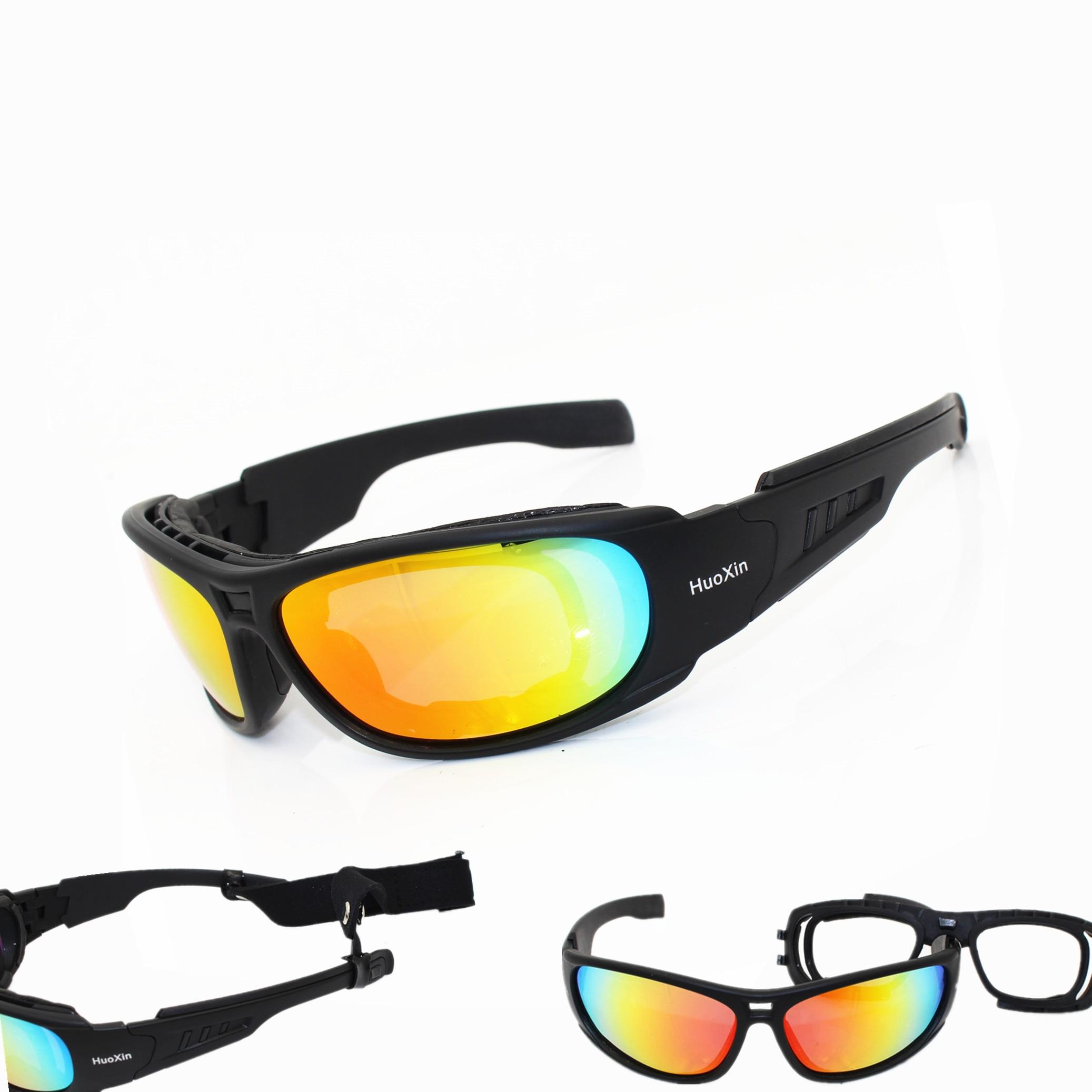 Tactical Goggles Sunglasses Men Military C6 Sun glasses for Mens War Game Tactical Glasses Outdoor