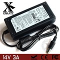 "14V 3A LCD Monitor AC Power Adapter For Samsung SyncMaster 770TFT 17"" SMT-170QN 570S TFT 180T 18"" AC Adapter With Power Cord"