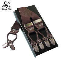 2016 New Fasion Men S Suspenders Braces With Y Back 3 Clips And Elastic Staps For