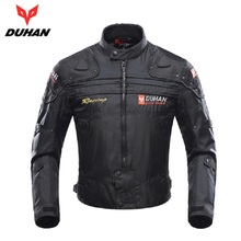 DUHAN Motorcycle Jackets Men Motocross Off-Road Racing  Body Armor Protective Moto Jacket Motorbike Windproof Jaqueta Clothing