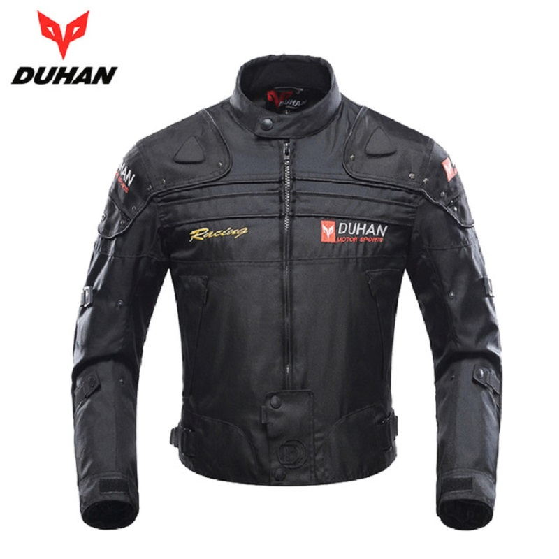 DUHAN vestes de Moto hommes Motocross tout-terrain course armure corporelle protection Moto veste Moto coupe-vent Jaqueta vêtements