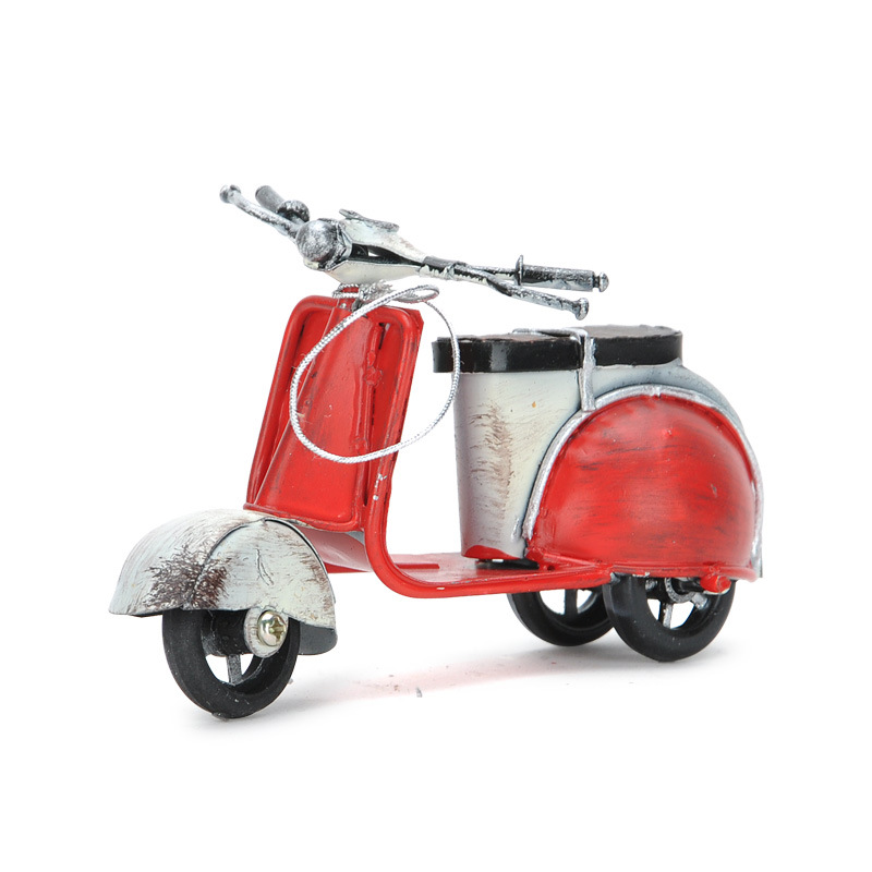 Bicycle Home Decor: Vintage Do Old Electric Bike Motorcycle Christmas