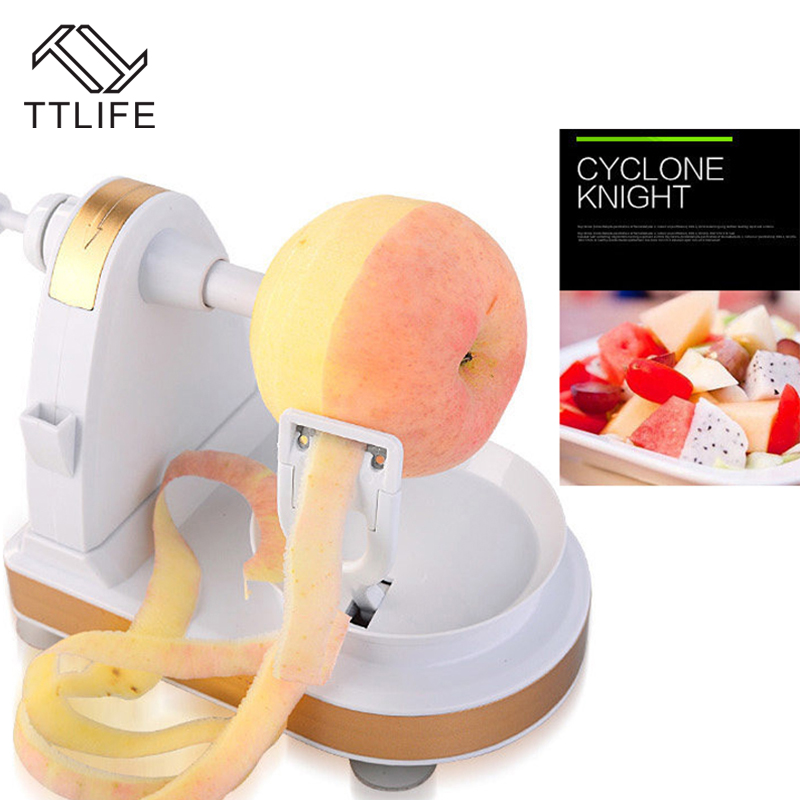 TTLIFE Fruit Peeler 2018 New Creative Peeling Multifunction Manual Fruit Peeler Machine Cutting Apple Artifact Kitchen Tool