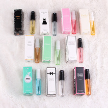 3ml Fragrances Perfumed For Women Atomizer Perfumed Beautiful Package Parfum Fashion Lady Flower Fruit Fragrance