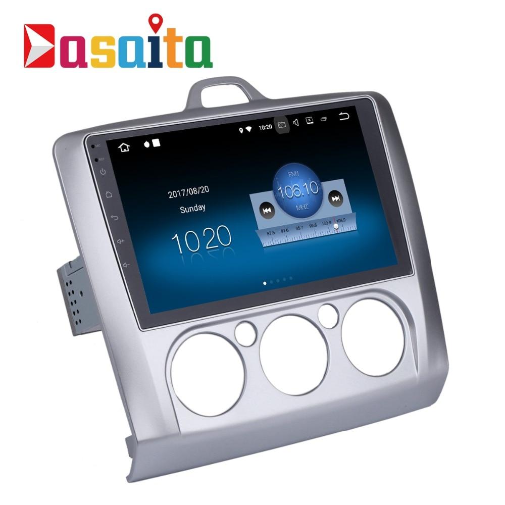 Dasaita 9 Android 8 1 Car GPS Player Navi for Ford Focus 2 Focus II 2004