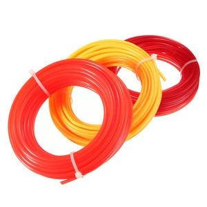 Image 2 - 10m x 2mm Strimmer Line Nylon Cord Wire Round String Brushcutter Grass Trimmer