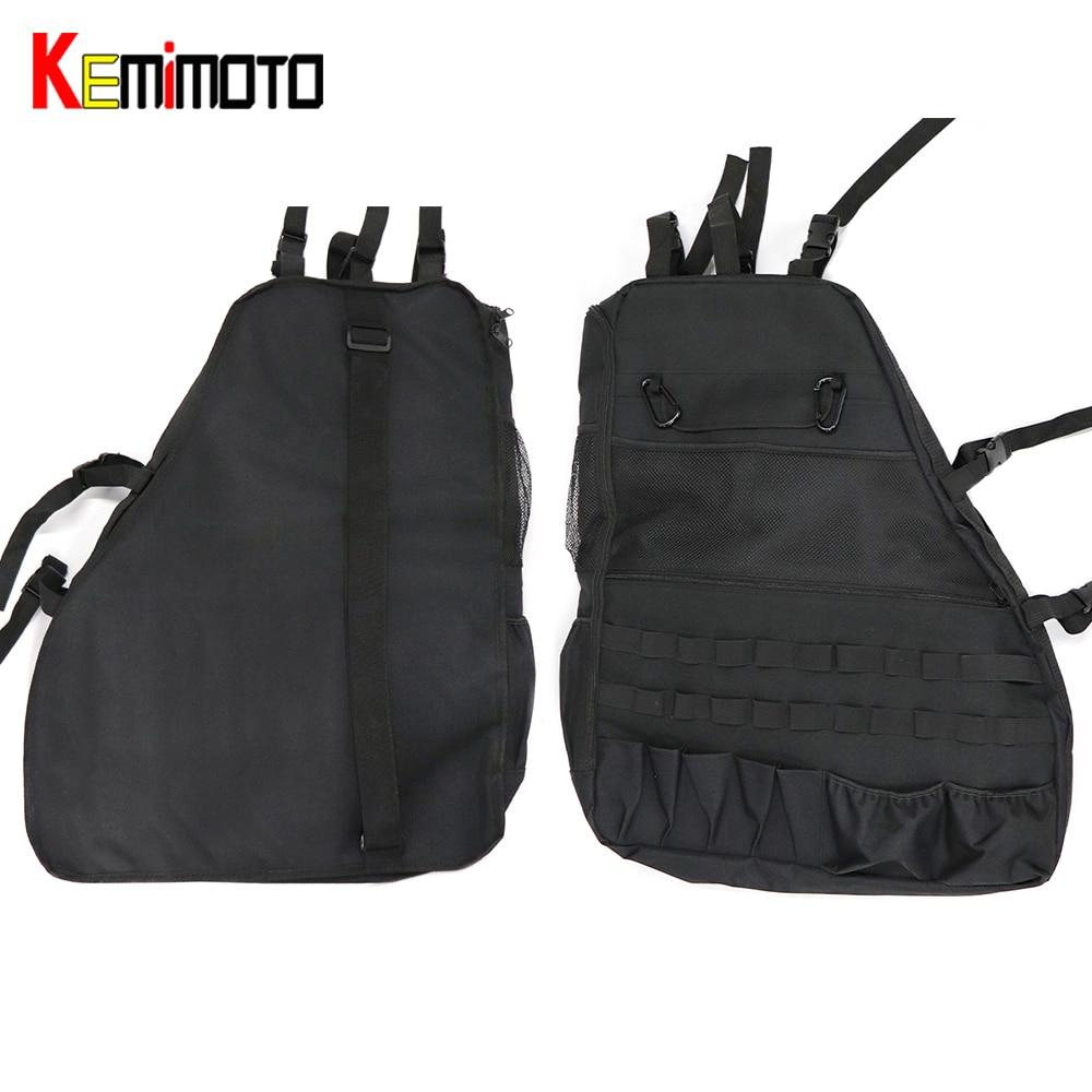 KEMiMOTO Организатор для Jeep Wrangler JK 2007-2017 4-двери анти-вешалка для рулонов-многоцелевой сумка для хранения мотокофр сумка гаджет держатель