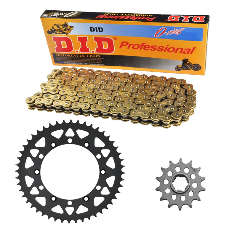 MOTORCYCLE 520 CHAIN Front & Rear SPROCKET Kit Set FOR Kawasaki KDX250 B3,C1,C2,C3,KX250 B1,C1-C2,D1-D2,KDX500 A1-A2,B1-B2 1 set motorcycle front
