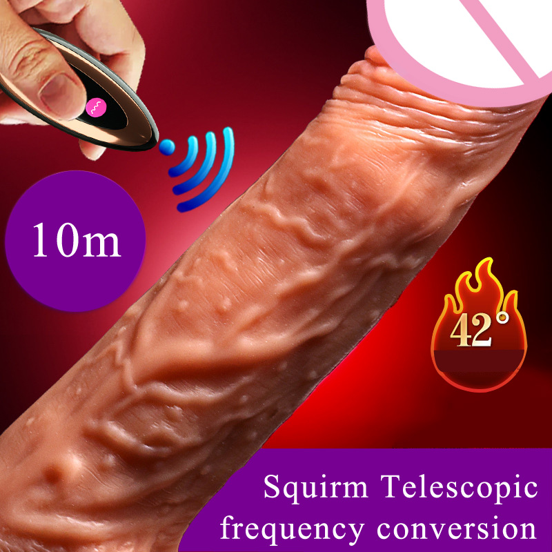 Silicone Big Suction Cup Dildo Realistic electric Squirm Penis Wireless Remote Telescopic Heating Swing Dildo Sex Toys For WomanSilicone Big Suction Cup Dildo Realistic electric Squirm Penis Wireless Remote Telescopic Heating Swing Dildo Sex Toys For Woman