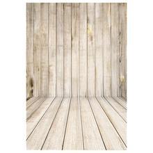 1m * 1.5m photography FT Retro Wood Wall Floor Baby Photography Photo Studio Props