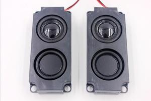 Image 2 - 2 個 5 ワット 8 オームフルレンジクリアなサウンド空洞スピーカーデュアル振動膜オーディオスピーカボックステレビコンピュータ
