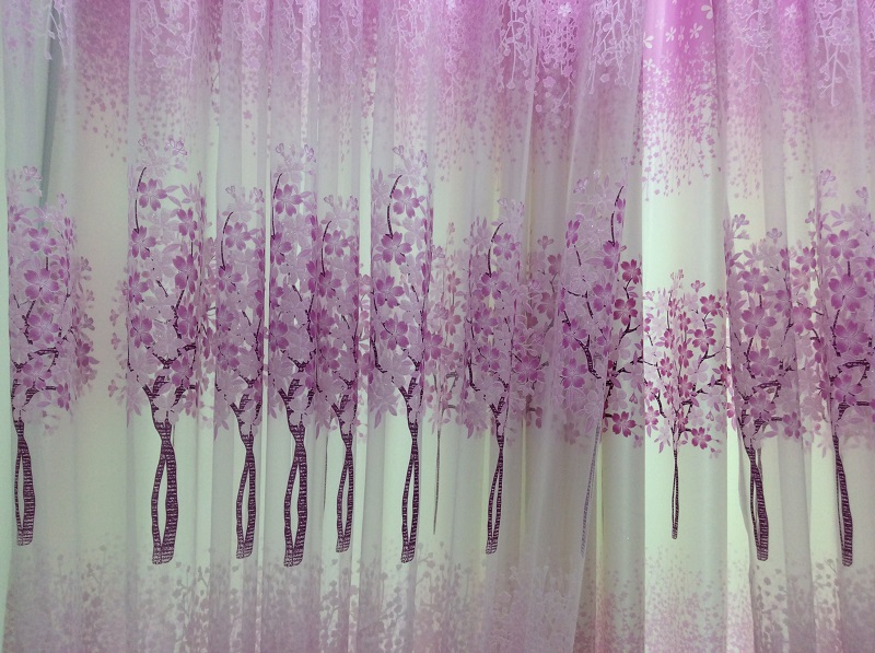Aliexpress.com : Buy New arrival chiffon curtains/ tree pattern ...