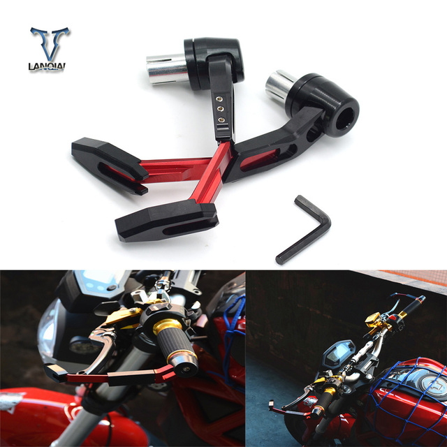 Universal 22mm Motocicleta Motocross Guidão Proteger Guarda Alavanca Do Freio de Embreagem para KTM DUKE 390 200 125 390 200 RC 125