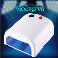 36 W Lamp Plug Of EU High Quality Lamp Nail Art Professional Nail Gel Diy UV Lamp Dryer Manicure Tool Gouserva