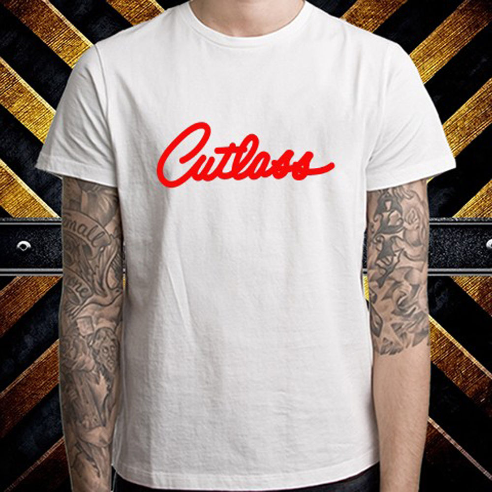 65ea7337 New Cutlass Oldsmobile Emblem RACINGERer Logo Men's White T Shirt Size S to  3XL-in T-Shirts from Men's Clothing & Accessories on Aliexpress.com |  Alibaba ...