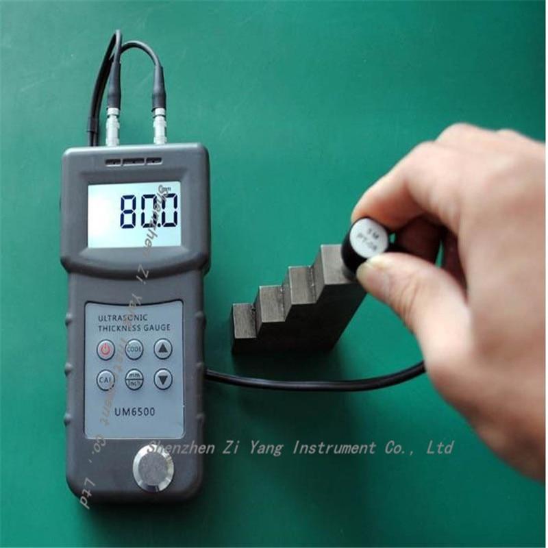 UM6500 Portable Digital Ultrasonic Thickness Gauge Meter 1.0-245mm,0.05-8inch (in Steel) 0.1mm  цены