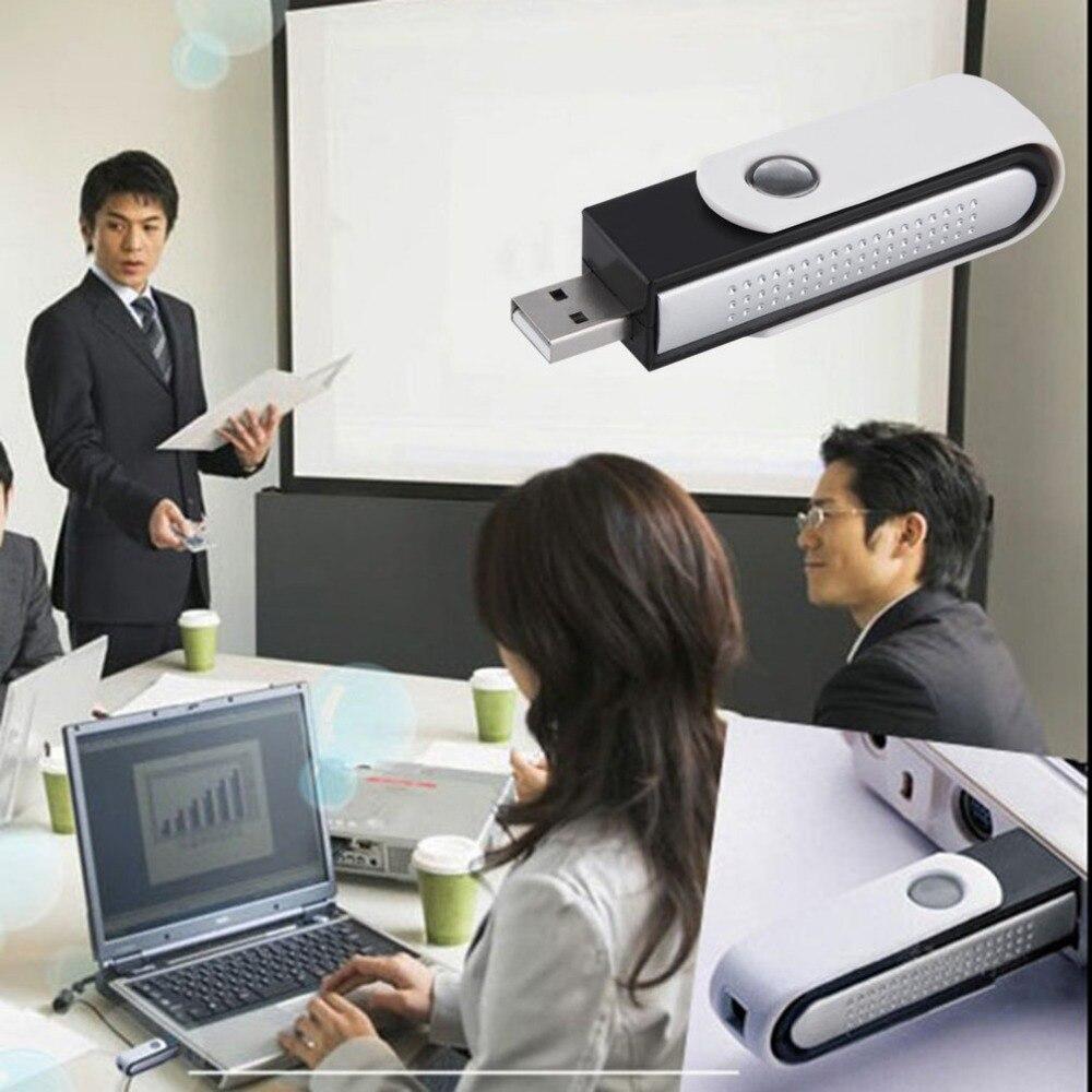 Amable Purificador De Aire Iónico Ionizador Usb Saludable Práctico Fresco Para Ordenador Portátil Limpiador De Oficina En Casa Mantener El Aire Limpio Portátil