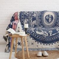 Europa Minimalistische vintage Sofa abdeckung decke konstellationen sofa handtuch Rutschfeste sofa abdecken voll decke Sofa Handtuch Decke