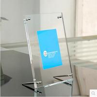 Free Shipping Cheap Acrylic Picture Frame Box Independent Packing Box 6 Polegadas