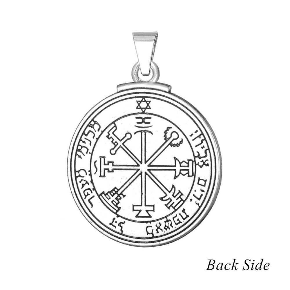 Dawapara pentagram jowisza klucz salomona wisiorek amulet charms