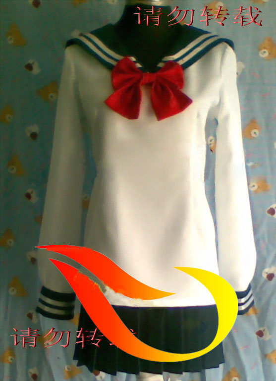 New cosplay anime clothes school uniform convention costume Customize  Free Shipping