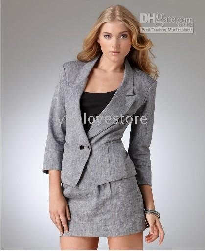 Women's Suits ,Modern Jacket, Three Quarter Sleeve Suit ,Ladies ...