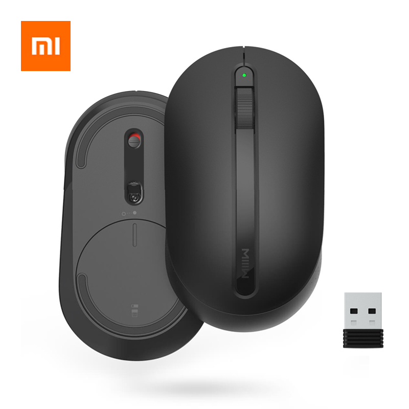 Xiaomi MIIIW Wireless Mouse Soft Touch Ergonomic Mouse Optical Mice 2.4G Wireless Mouse USB Receiver For Win7/8/10/XP Mac OS-in Mice from Computer & Office