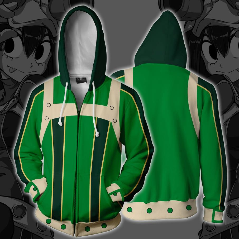 My Hero Academia Hoodie 3D Anime Sweatshirts Men Women Hoodies Cosplay Costume New