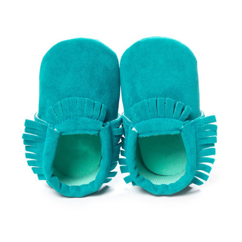 First Walkers Leather Shoes Newborn Baby Moccasins Soft Shoes Kids Bebe Fringe Soft Soled Non-slip Footwear Crib Shoe